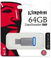 ALM KINGSTON PENDRIVE 64GB DT 50 AZUL