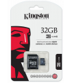 ALM KINGSTON TARJETA MICRO SD CON ADAP. 32GB CLASE 4