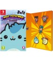 Holy Potatoes Compendium 3 Titles One Pack With Pin Badges Set Nintendo Switch