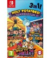 NINTENDO SWITCH HOLY POTATOES COMPENDIUM 3 TITLES ONE PACK