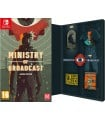 Ministry of Broadcast with pin Badges Set Nintendo Switch