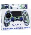 Funda mando silicona PS4 + Grips Camo Navy en Accesorios PS4 por solo 6,49€ > Tu Tienda de Videojuegos | TTDV