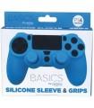 Funda mando PS4 silicona + Grips azul en Accesorios PS4 por solo 4,99€ > Tu Tienda de Videojuegos | TTDV