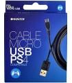 Cable carga mando PS4 micro USB