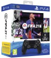 Mando PS4 Dual Shock 4 Black V2 + Fifa 21