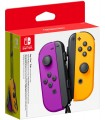 Nintendo Switch Mando Joy-Con Morado/Naranja Neón