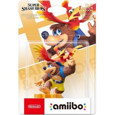 Figura Amiibo Banjo Kazooie (Colección Super Smash Bros)