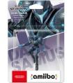 Figura Amiibo Samus Oscura (Colección Super Smash Bros)