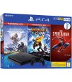 Consola PS4 500 GB + HZD Complete Edition + Ratchet and Clank + Spider-Man