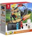 Consola Nintendo Switch Azul/Rojo Neon + Ring Fit