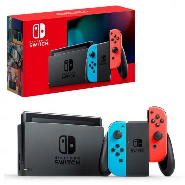 Consola Nintendo Switch Azul/Rojo Neon V2 en Consola Nintendo Switch por solo 317,99€ > Tu Tienda de Videojuegos | TTDV