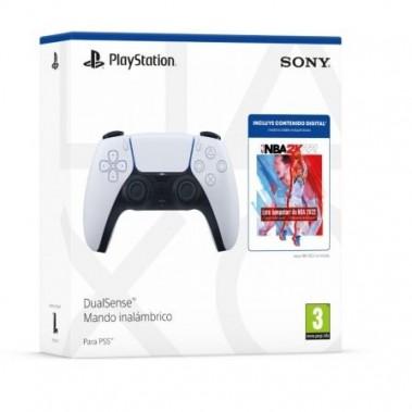 Sony DualSense Mando Inalámbrico para PS5 + NBA 2K22 Jumpstart en Accesorios PS5 por solo 64,99€ > Tu Tienda de Videojuegos | TTDV