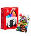 Consola Nintendo Switch Oled Blanca + Super Mario 3D Worlds Bowser's Fury en Consola Nintendo Switch por solo 385,99€ > Tu Tienda de Videojuegos | TTDV
